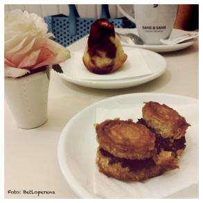 Esmorzar a la Giulietta (plaça Tetuan)